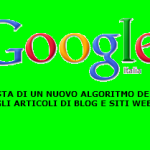 Alternativa a google: la mia proposta di algoritmo user friendly